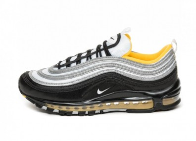 Кроссовки Nike Air Max 97 (Black / White - Amarillo)