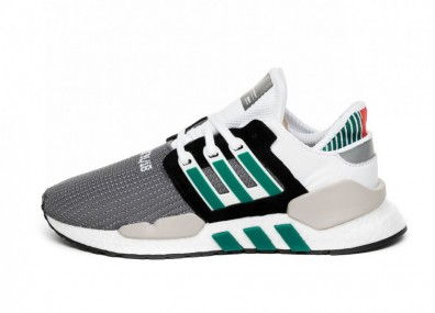 Кроссовки adidas Equipment Support 91/18 (Core Black / Clear Granite / Sub Green)