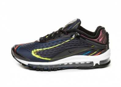 Кроссовки Nike Air Max Deluxe (Black / Black - Midnight Navy - Reflect Silver)