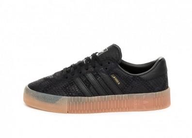 Кроссовки adidas Sambarose W (Core Black / Core Black / Gum)