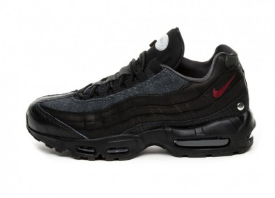 Кроссовки Nike Air Max 95 NRG (Black / Team Red - Anthracite)