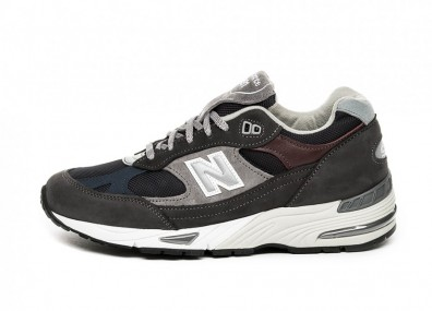 Кроссовки New Balance M991GNN *Made In England* (Grey / Navy)