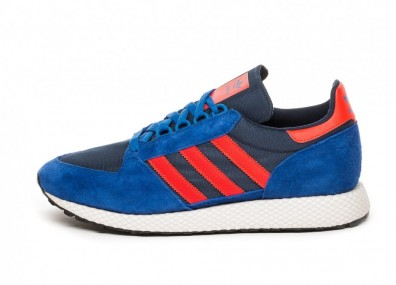 Кроссовки adidas Forest Grove (Power Blue / Hi-Res Red / Cloud White)