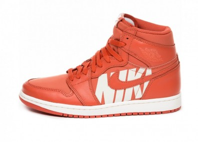 Кроссовки Nike Air Jordan 1 Retro High OG *Nike Air Pack* (Vintage Coral / Sail)