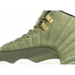 Кроссовки Nike Air Jordan 12 Retro Chris Paul *Class Of 2003* (Olive Canvas / Metallic Gold - Black - Sail), фото 5 | Интернет-магазин Sole