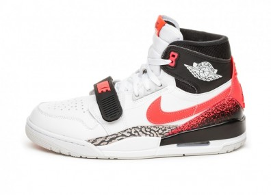 Кроссовки Nike Air Jordan Legacy 312 NRG *Hot Lava* (White / Hot Lava - Black - Zen Grey)