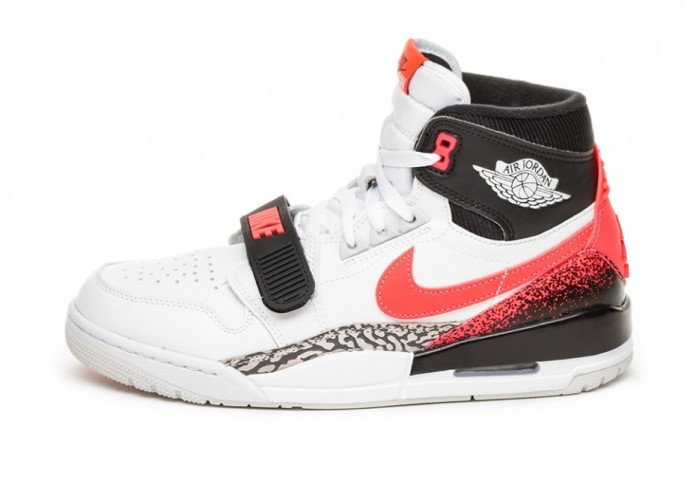 Кроссовки Nike Air Jordan Legacy 312 NRG *Hot Lava* (White / Hot Lava - Black - Zen Grey) | Интернет-магазин Sole