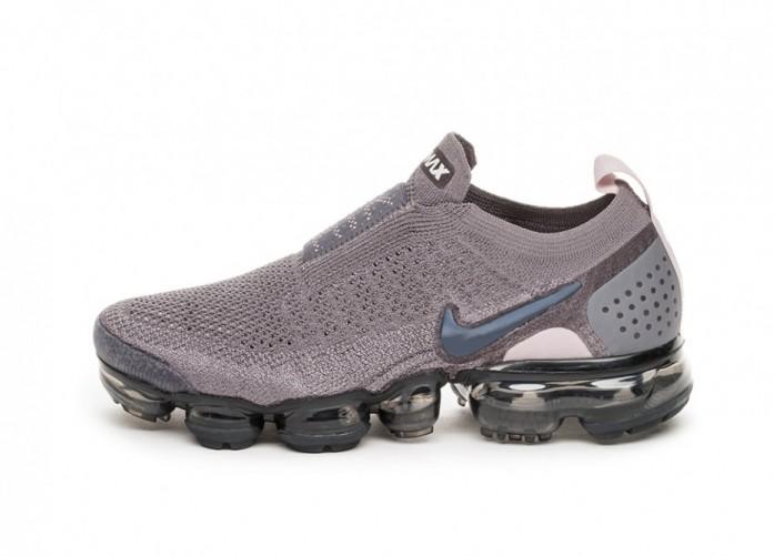 Кроссовки Nike Wmns Air Vapormax Flyknit Moc 2 (Gunsmoke / Blackened Blue - Thunder Grey) | Интернет-магазин Sole