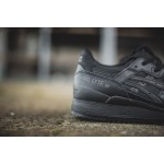 "Asics Gel Lyte III ""Triple Mix"" - Black/Black, фото 4 