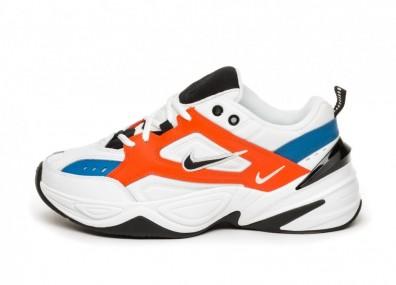 Кроссовки Nike M2K Tekno - Summit White / Black - Team Orange