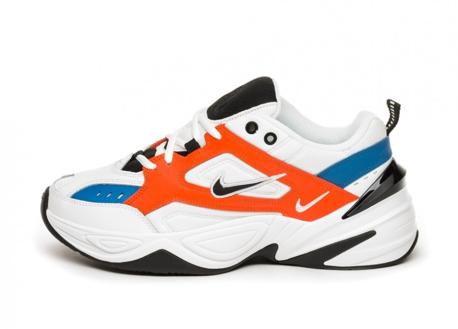 online store cdf7d 406f3 Кроссовки Nike M2K Tekno (Summit White   Black - Team Orange)   Интернет-