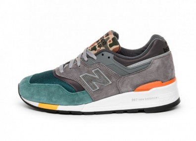 Кроссовки New Balance M997NM *Made in USA* (Grey / Green)