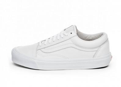 Кроссовки Vans Vault OG Old Skool LX (White)