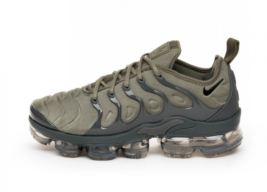 969ecc0b0cb Кроссовки Nike Air Vapormax Plus (Dark Stucco   White - Dark Grey -  Anthracite)