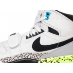 Кроссовки Nike Air Jordan Legacy 312 NRG *Billy Hoyle* (White / Black - Volt - Vivid Blue), фото 4 | Интернет-магазин Sole