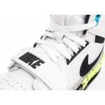 Кроссовки Nike Air Jordan Legacy 312 NRG *Billy Hoyle* (White / Black - Volt - Vivid Blue), фото 5 | Интернет-магазин Sole