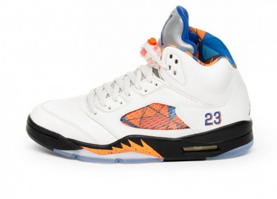 Кроссовки Nike Air Jordan 5 Retro *International Flight* (Sail / Racer Blue - Cone - Black)