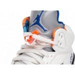 Кроссовки Nike Air Jordan 5 Retro *International Flight* (Sail / Racer Blue - Cone - Black), фото 4 | Интернет-магазин Sole