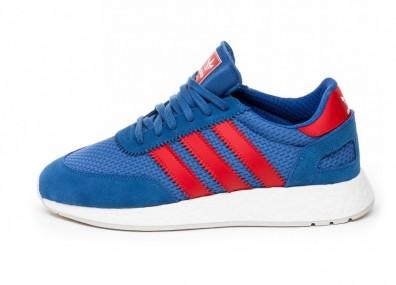 Кроссовки adidas I-5923 (Hi-Res Blue / Red / Grey One)