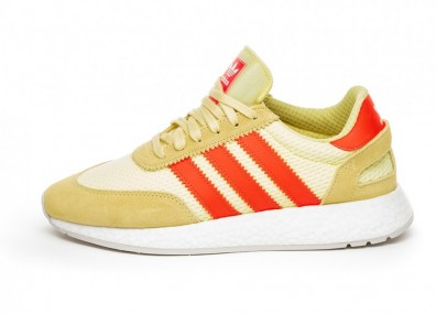 Кроссовки adidas I-5923 (Clear Yellow / Solar Red / Grey One)
