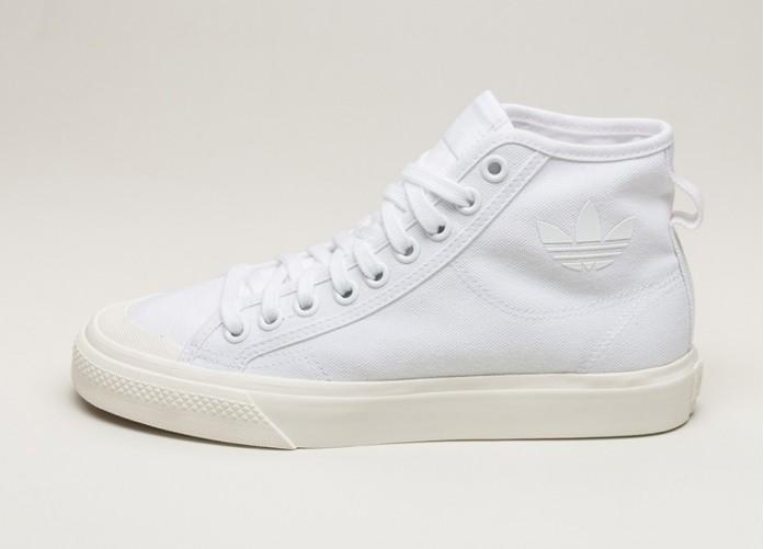 3d2c1bc5b436 Кроссовки adidas Nizza Hi (Ftwr White   Ftwr White   Off White ...
