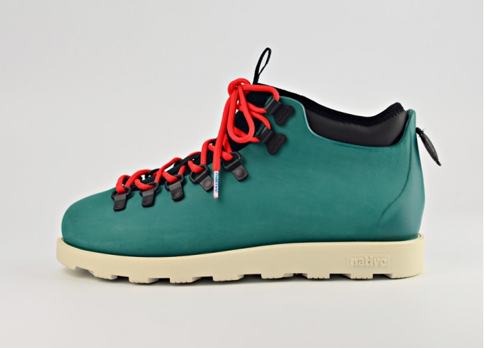 Ботинки Native Fitzsimmons Citylite - Shade Green | Интернет-магазин Sole