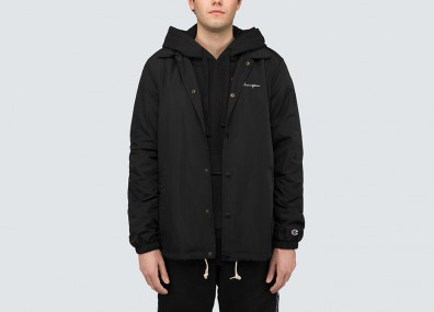 Champion Padded Longline Hooded Popper Jacket