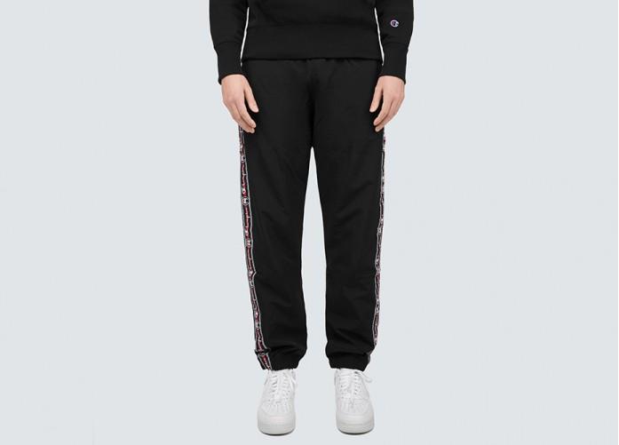 Штаны Champion Elastic Cuff Pants - Black | Интернет-магазин Sole