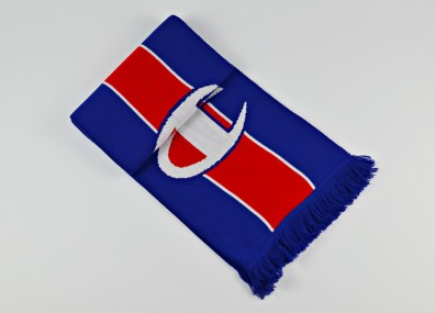 Champion Knitted Scarf - Blue/Red