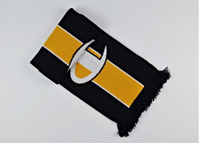 Шарф Champion Knitted Scarf - Black/Yellow | Интернет-магазин Sole