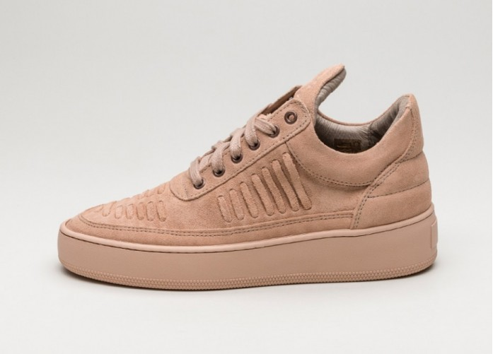 Мужские кроссовки Filling Pieces Low Top Huar (Rose) | Интернет-магазин Sole