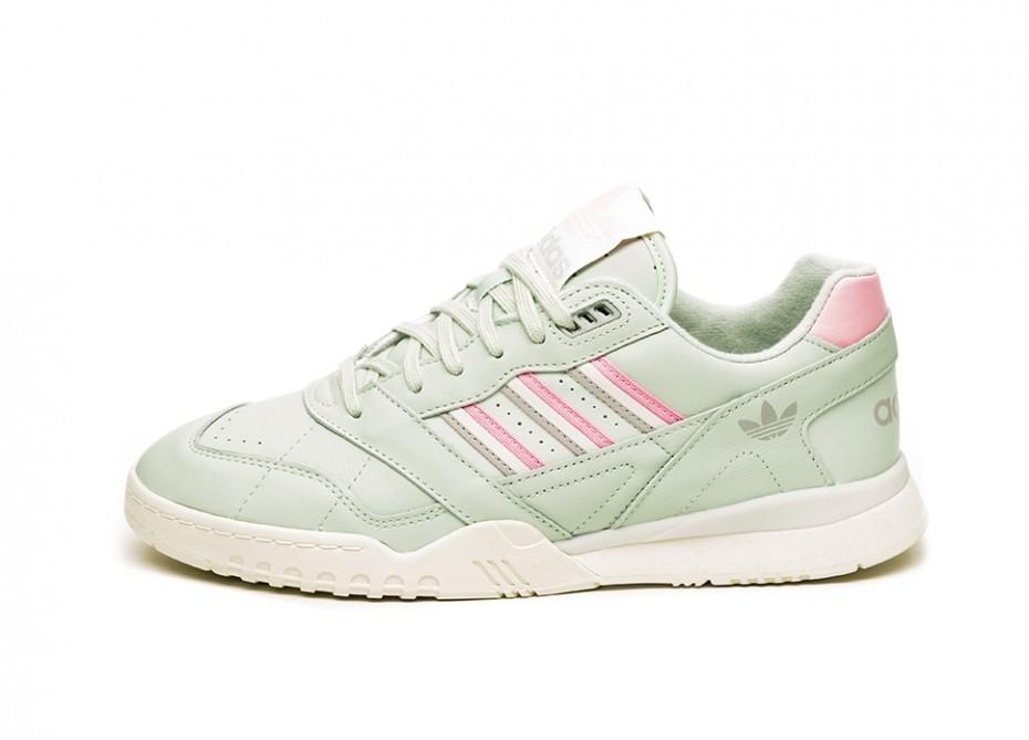 Кроссовки adidas AR Trainer (Linen Green True Pink Off White)
