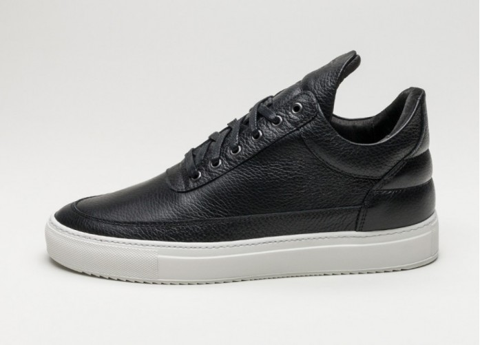Мужские кроссовки Filling Pieces Low Top Kobe (Black) | Интернет-магазин Sole