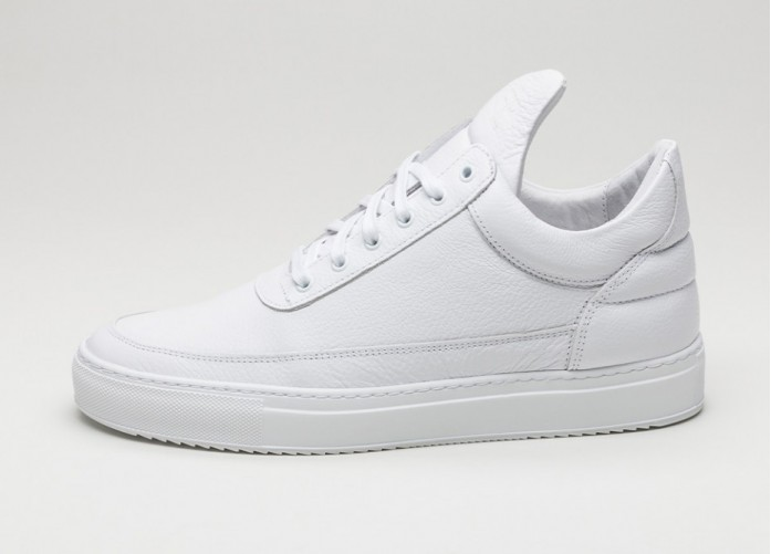 Мужские кроссовки Filling Pieces Low Top Kobe (White) | Интернет-магазин Sole