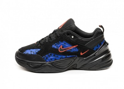 Кроссовки Nike Wmns M2K Tekno (Black / Habanero Red - Racer Blue)