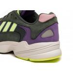 Кроссовки adidas Yung-1 (Legend Ivy / Hi Res Yellow / Active Purple), фото 4 | Интернет-магазин Sole