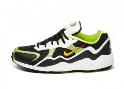 Кроссовки Nike Air Zoom Alpha (Black / Volt - Habanero Red - White)