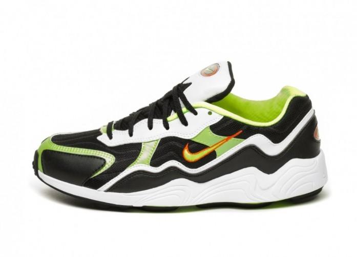 Кроссовки Nike Air Zoom Alpha (Black / Volt - Habanero Red - White)   Интернет-магазин Sole