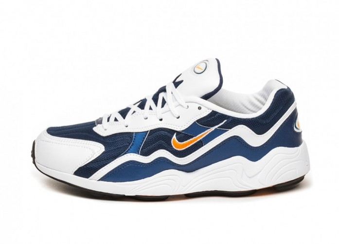 Кроссовки Nike Air Zoom Alpha (Binary Blue / Carotene - White - Black) | Интернет-магазин Sole
