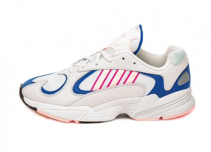 Кроссовки adidas Yung-1 (Crystal White / Clear Orange / Collegiate Royal) | Интернет-магазин Sole