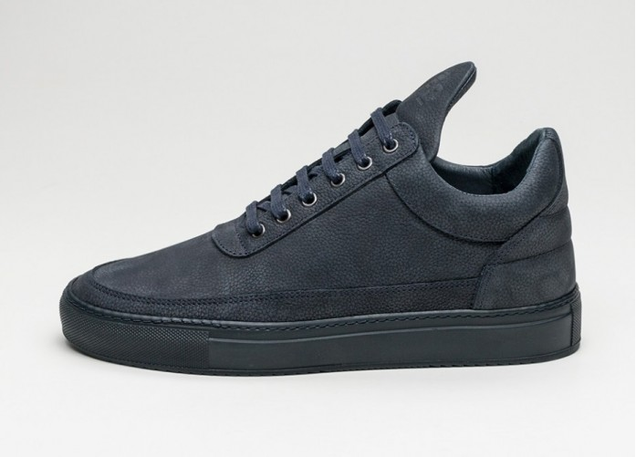 Мужские кроссовки Filling Pieces Low Top Ton (Navy) | Интернет-магазин Sole