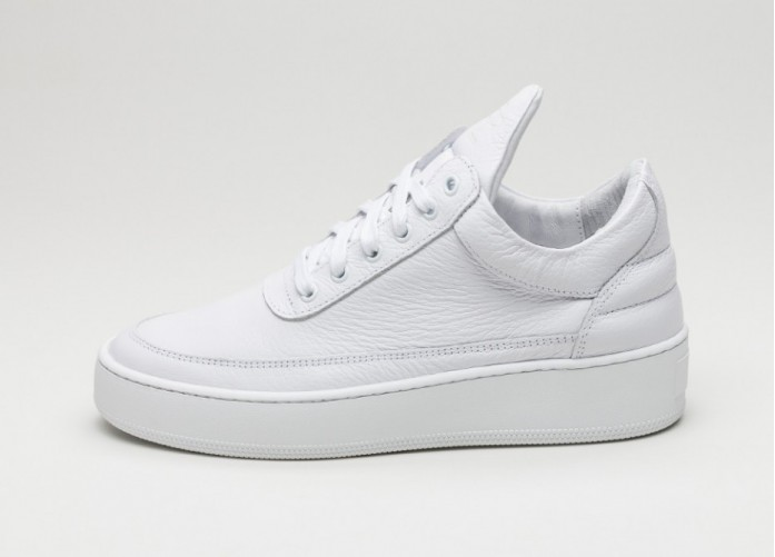 Мужские кроссовки Filling Pieces Low Top Cleo (White) | Интернет-магазин Sole
