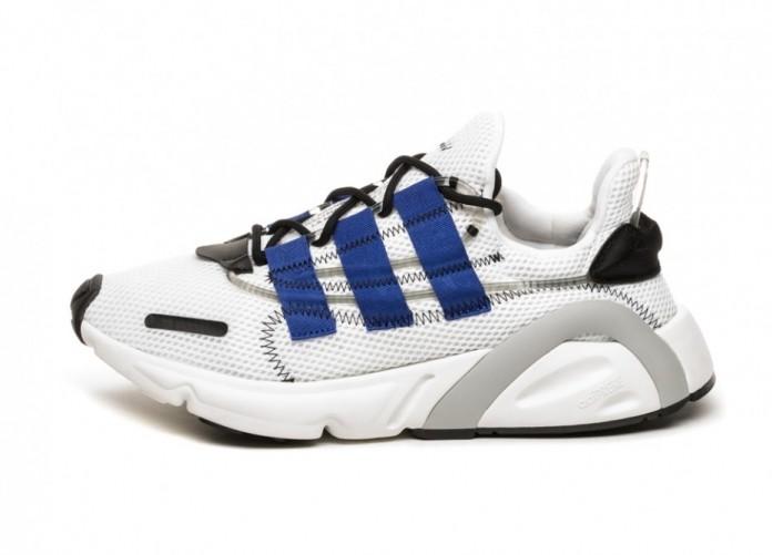 Кроссовки adidas LXCON (Ftwr White / Active Blue / Core Black) | Интернет-магазин Sole