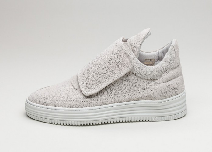 Мужские кроссовки Filling Pieces Low Top Single Velcro (Grey) | Интернет-магазин Sole