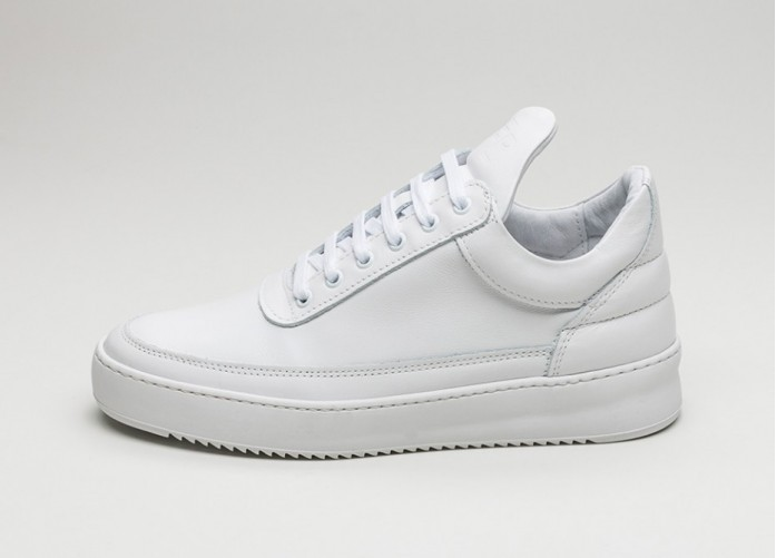 Мужские кроссовки Filling Pieces Low Top Fundament (White) | Интернет-магазин Sole