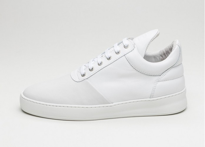 Мужские кроссовки Filling Pieces Low Top Diagonal (White) | Интернет-магазин Sole