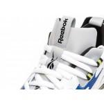 Кроссовки Reebok DMX Series 1200 LT (White / Cloud Grey / Blue Move / Neon Lime / Black), фото 4 | Интернет-магазин Sole