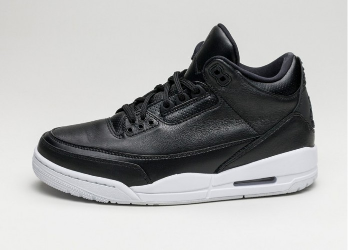 Мужские кроссовки Nike Air Jordan 3 Retro *Cyber Monday* (Black / Black - White) | Интернет-магазин Sole