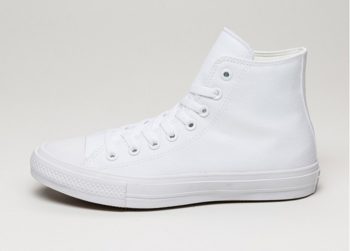 Мужские кроссовки Converse Chuck Taylor All Star II Hi (White / White / Navy) | Интернет-магазин Sole