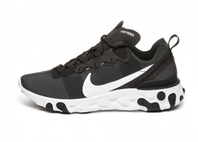 Кроссовки Nike React Element 55 (Black / White)